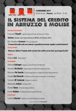 Credito, in Abruzzo e Molise è emergenza: lunedì convegno a Pescara. Tra gli ospiti Calcagni, De Bustis e De Vincenti