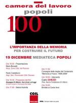 100 anni della Camera del Lavoro di Popoli