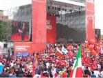 Grande manifestazione della Cgil al Circo Massimo a Roma