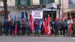 Manifestazione contro la Regione